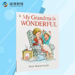 My Grandma is Wonderful 我的奶奶真棒点读版 英文亲子互动原版绘本 吴敏兰书单增进情感交流 支持