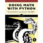 英文原版 用Python做数学 Doing Math With Python