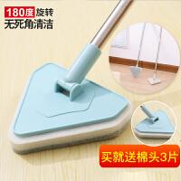 家用地板刷长柄地刷浴室浴缸洗厕所刷子卫生间瓷砖海绵厨房清洁刷