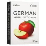 柯林斯德语图解词典 英文原版 Collins German Visual Dictionary 英语德语双语词典 全彩