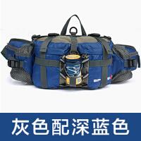 户外腰包旅行装备男女款登山运动多功能防水旅游水壶骑行背包