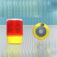 磁铁吸顶太阳能警示灯 施工渔船塔吊障碍交通 爆闪信号闪光指示灯