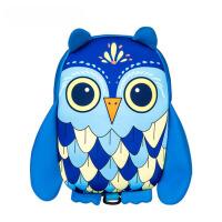 男女童猫头鹰1-6岁年级宝宝书包 儿童包包幼儿园双肩背包