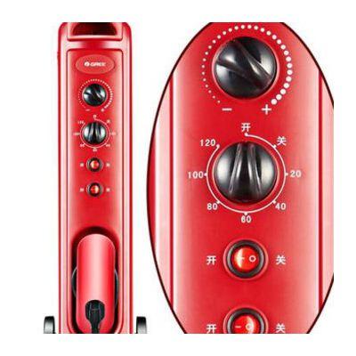 格力取暖器 NDYC-21C-WG 家用电暖器节能省电电暖气电暖炉 无油防爆 宝宝可用