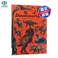英文原版 恐龙博物馆 欢迎来到博物馆系列 Dinosaurium 精装大开本 插图精美科普读物 Chris Wormel
