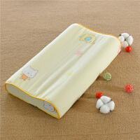 ???乳胶枕枕套儿童宝宝婴儿枕头套夏季记忆枕40X60纯棉全棉