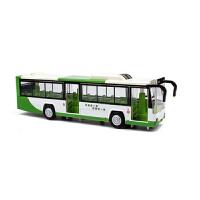 儿童玩具小汽车合金金属仿真双层巴士客车公交车模型声光回力车