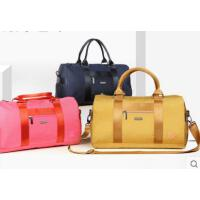男女健身包运动包新款手提包单肩行李包 斜跨旅行袋金色短途旅行包