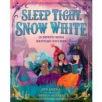 【现货】英文原版 晚安,白雪公主 Lorena Alvarez 插画 4-7岁 大开精装绘本 睡前故事 童谣 Sleep
