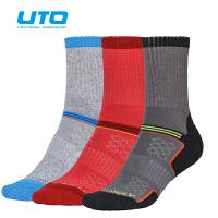 UTO悠途 银离子抗菌袜快干袜子男户外登山袜男袜运动跑步袜篮球袜女袜健身袜110