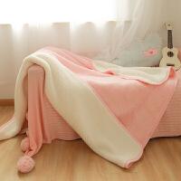 珊瑚绒毛毯床单被子法兰绒毯子冬季加厚保暖双人可爱单人宿舍午睡