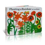 英文原版 Planting a Rainbow 种彩虹 Lois Ehlert 吴敏兰推荐123绘本 3-6岁低幼儿童