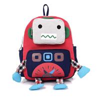 幼儿园中大班书包1-3-5-6岁4可爱男童机器人儿童双肩包女学生背包