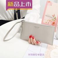 女士手拿长款钱包新款手包多功能卡包手机包零钱包