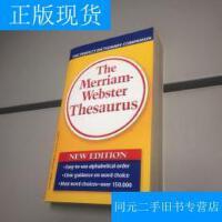 【二手旧书9成新】【正版现货】The Merriam-Webster Thesaurus 原版引进 韦氏字典 黄韦氏