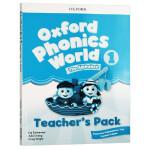 新版 牛津自然拼读教材教师书1 英文原版 Oxford Phonics World Level 1 Teacher's