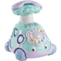 可优比宝宝0-1岁电话玩具婴儿益智6-8-12个月男女电动音乐玩具车