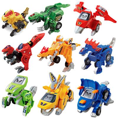 变形恐龙机器人VTECH伟易达玩具车翼龙三角龙霸王龙儿童男孩 玩具 会说话+音效+短曲