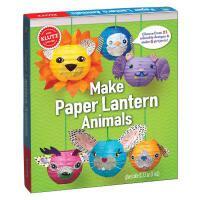 Paper Lantern Animals 儿童手工书:制作动物纸灯 英文原版 亲子互动书籍