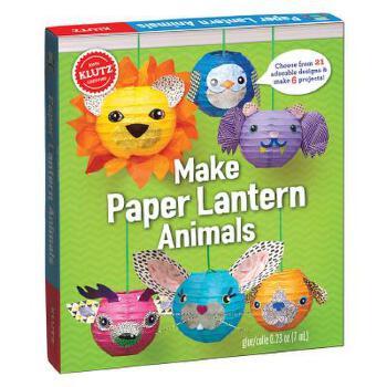 paper lantern animals 儿童手工书:制作动物纸灯 英文原版 亲子互动