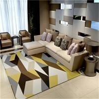 北欧地毯客厅几何图案现代简约长方形北欧风地毯家用沙发茶几毯