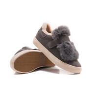 冬季加绒加厚板鞋女棉鞋ins帆布鞋火的韩版百搭毛毛鞋软底