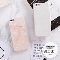 苹果6s手机壳防摔i7挂绳i6硅胶x文艺大理石iphone8plus手机套