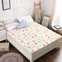 棉防水隔尿床笠床罩床套 防滑隔水床垫罩 婴儿床上用品
