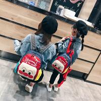 新款儿童书包韩版超火可爱校园潮休闲防水双肩包卡通幼儿园小背包