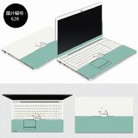 惠普DV4-5000系列笔记本电脑贴膜dv4-5a01T 贴纸5a00TX外壳保护膜