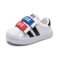 宝宝小白鞋1-3岁鞋子男小童板鞋女婴儿鞋春秋女童贝壳头童鞋男童2