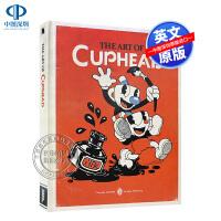 现货茶杯头美术设定集 TGA获奖独立游戏 精装 英文原版 The Art of Cuphead 30年代复古画风 概念设