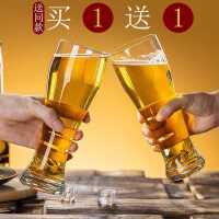 抖音大号啤酒杯酒吧个性玻璃家用加厚精酿扎啤杯网红创意KTV酒杯kb6