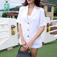 【韩国直邮】 夏季时尚短袖薄外套 VIEWSHOP_06 May short sleeve jacket [KR][K