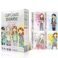 英文原版 Cupcake Diaries 杯子蛋糕女生日记 4册盒装 儿童章节故事桥梁书 7-9-12岁