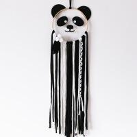 工厂风熊猫风铃挂件儿童房卧室装饰壁挂小孩生日礼物派对