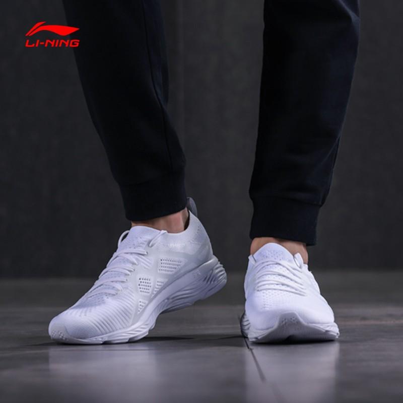 李宁跑步鞋男鞋夏季四代跑鞋训练鞋透气休闲鞋运动鞋ARHN023 目前只能发邮局和顺丰