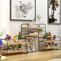 简易书架桌上桌面置物架办公桌收纳多层书桌餐桌收纳小型储物架子