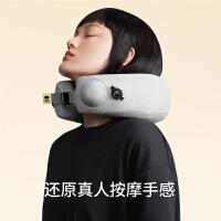 允宝颈椎按摩器肩颈脖子颈部电动腰部按摩仪充气护颈枕