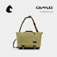 CRUMPLER澳洲小野人CHRONICLER单肩背包斜挎包商务时尚电脑背包