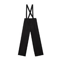 【1件2折到手价:59.8】美特斯邦威休闲裤女士冬装新款背带阔腿长裤
