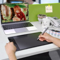 绘客T30数位板手绘板电脑电子绘画板手写板绘图板写字板输入板