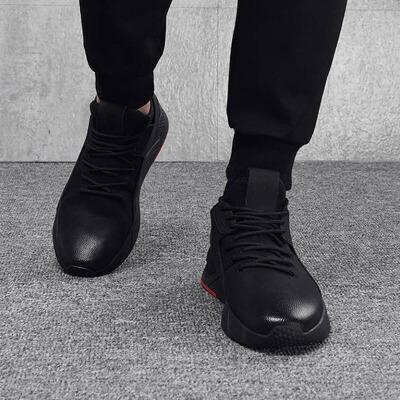 休闲鞋 男式学生低帮青年运动跑步透气鞋2020韩版冬季户外防滑平底板鞋单鞋子 由于北京地区快递停发,北京的订单快递恢复后按顺序发出