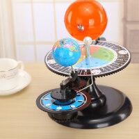 志�\ 大�太�地球月亮日地月�\行三球�x教�W模型�x器 初高中地球公�D自�D模�M演示模型小�W生用地理教具
