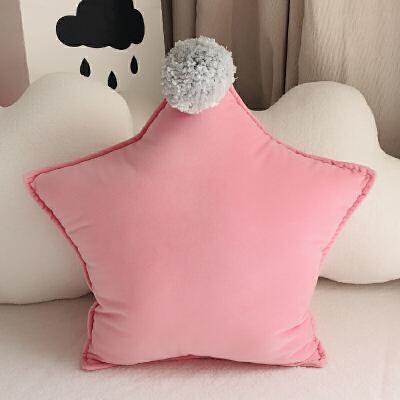 0720010709457ins创意星星抱枕少女心可爱公主风沙发床靠枕毛绒靠垫午睡枕头 一般在付款后3-90天左右发货,具体发货时间请以与客服协商的时间为准