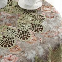 方桌布布艺正方形客厅家用方几角几八仙桌麻将桌台布餐桌布罩桌垫 绿