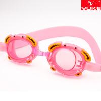 儿童泳镜高清防雾防水螃蟹卡通游泳镜可爱游泳眼镜批发