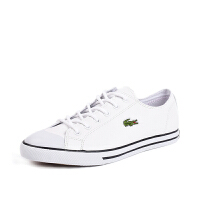 Lacoste法国鳄鱼女鞋经典小白鞋真皮低帮平底休闲板鞋专柜正品