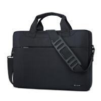 电脑包15.6寸防水14/男女式单肩手提笔记本电脑包15.6英寸