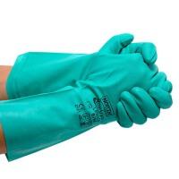 家务植绒衬里手套 洗碗清洁防水手套 洗衣家务防护手套